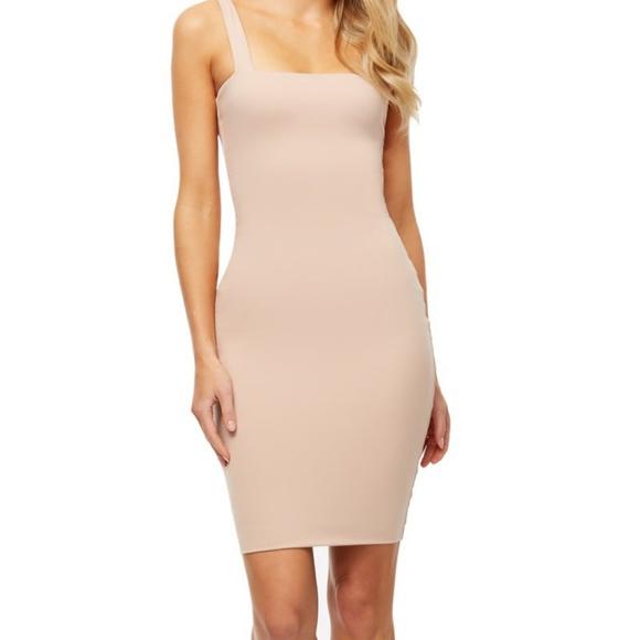KOOKAÏ Luminous Nude Dress Midi Size 1 - NWT. NWT. KOOKAI c6fe8400c